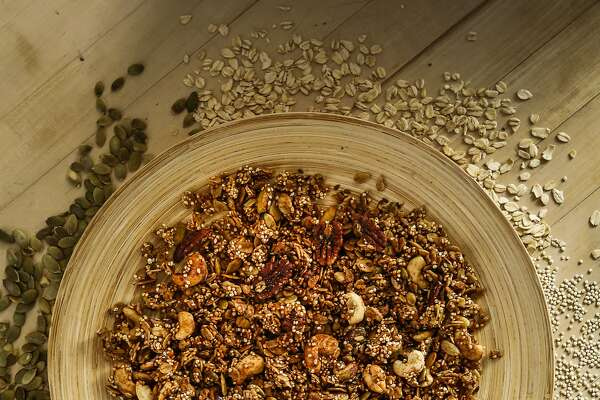 Pantry Granola is seen on Monday, May 18, 2015 in San Francisco, Calif.