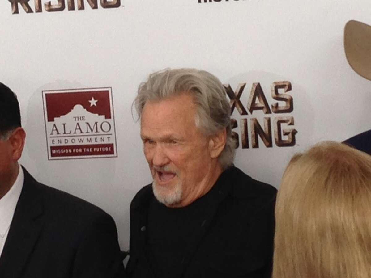 Kris Kristofferson stars as President Andrew Jackson in Texas Rising.