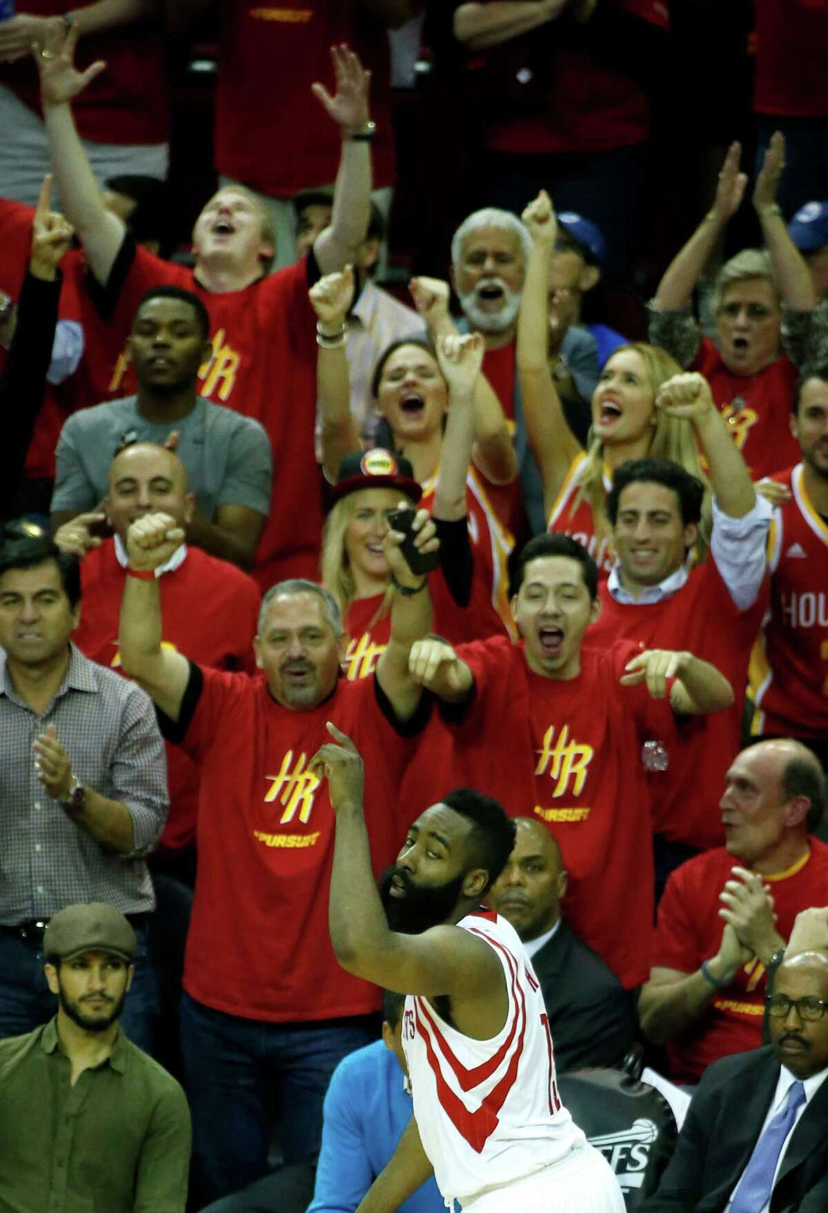 James Harden got used to hearing chants of