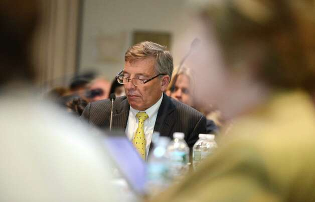 Anthony S. Bottar, Vice chancellor of the state Board of Regents, listens to discussion during a Regents' meeting Monday afternoon, May 18, 2015, at the State Education Building in Albany, N.Y. (Will Waldron/Times Union) Photo: WW