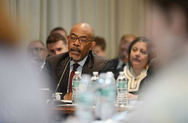 Regents member Lester W. Young, Jr. makes a comment during a Regents' meeting Monday afternoon, May 18, 2015, at the State Education Building in Albany, N.Y. (Will Waldron/Times Union) Photo: WW