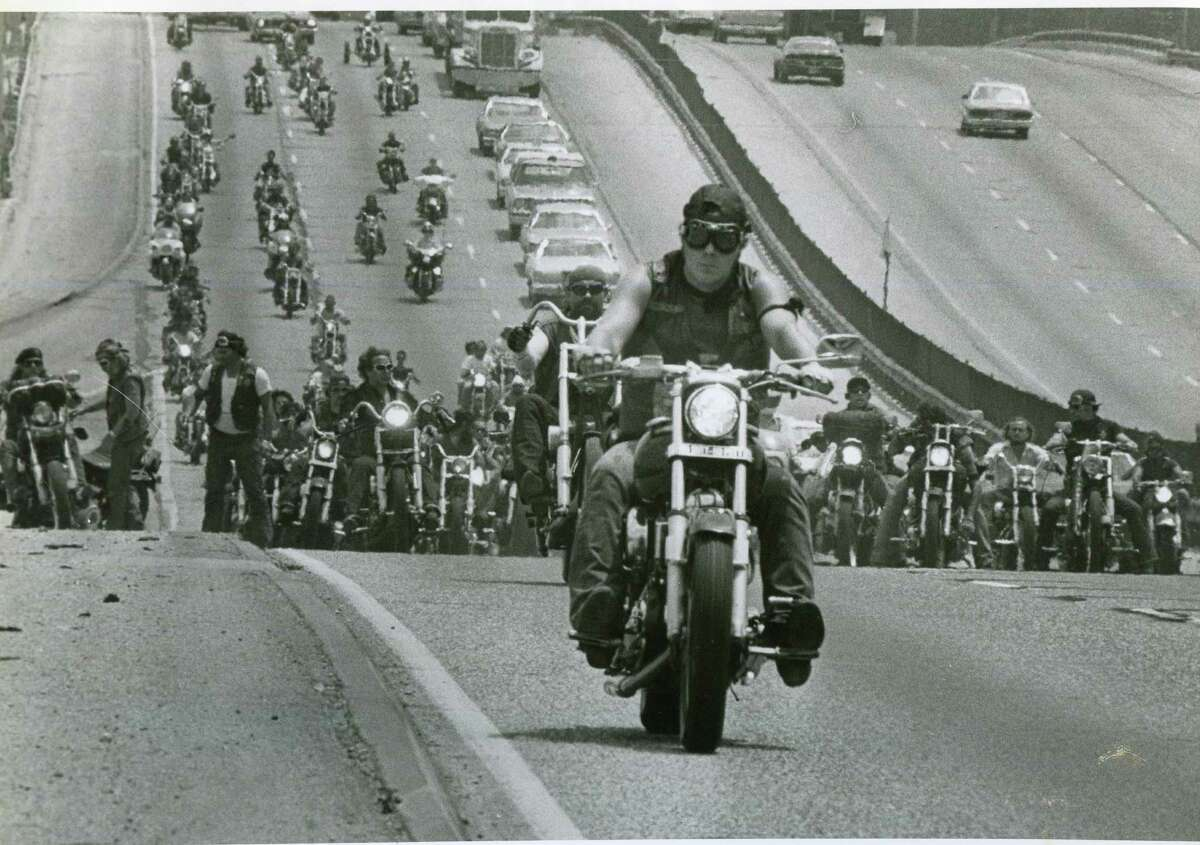 See 15 notorious gangs in the U.S. and abroad. Biker clubs only represent about 2.5 percent of gang activity in the United States. But the Justice Department often keeps a close eye on the larger groups thanks to their purported roles in weapons and drug trafficking, extortion and violent crimes. Here are 15 infamous biker gangs in the United States and around the world. Source: Justice Department / Motorcycle club homepages