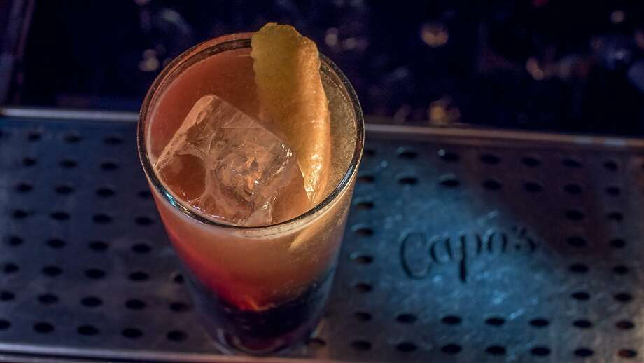 The Fool's Gold cocktail at Capo's in San Francisco, Calif., is seen on May 18th, 2015. Photo: John Storey, Special To The Chronicle