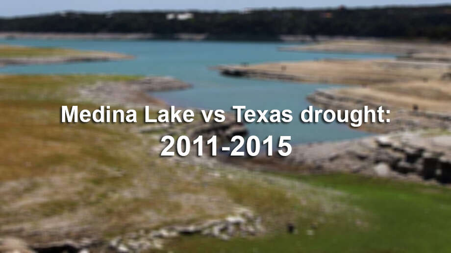 Timeline photos offer a startling look at what can happen to one of the San Antonio-area's favorite lakes when drought conditions wreak havoc.See Medina Lake's incredible transformation with photos from each year of Texas' most recent crippling drought. Photo: JOHN DAVENPORT, SAEN / SAN ANTONIO EXPRESS-NEWS (Photo can be sold to the public)
