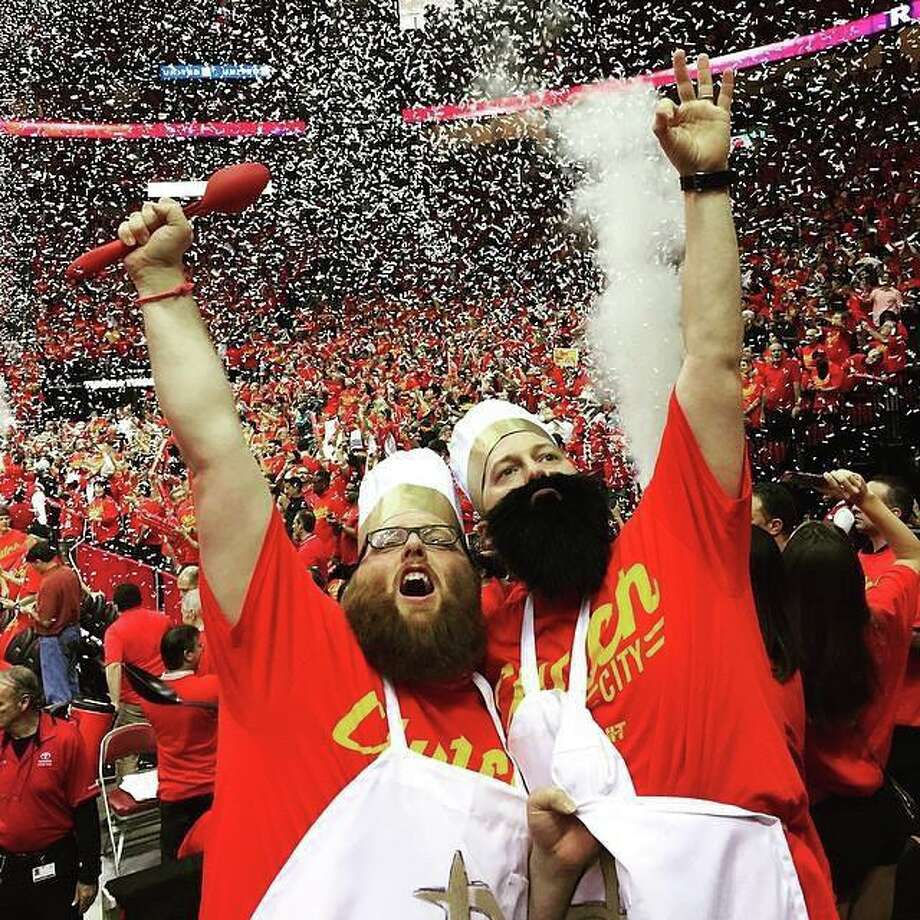 Victory at Toyota Center Photo: Clutch City Chefs