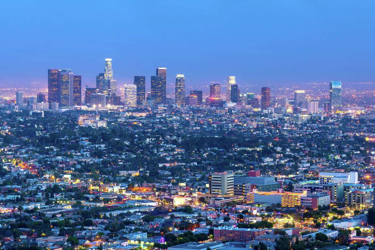 No. 9: Los Angeles, California PlentyOfFish says this city has the ninth highest share of women between the ages of 40 and 60 who have dated men at least 7 years younger than them.