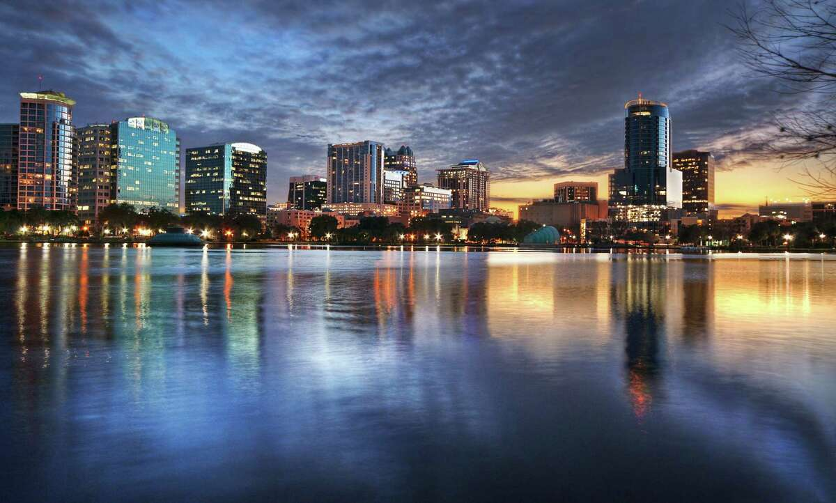 8. Orlando, FL Median list price: $299,400 Number of permits: 28,877 One-year change in permits: 48.6%