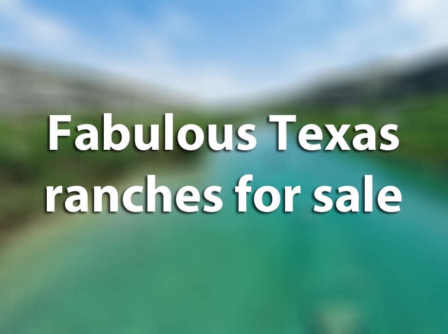 See these other high-end Texas ranches recently put on the market. Photo: Guillen, Darla, Houston Chronicle