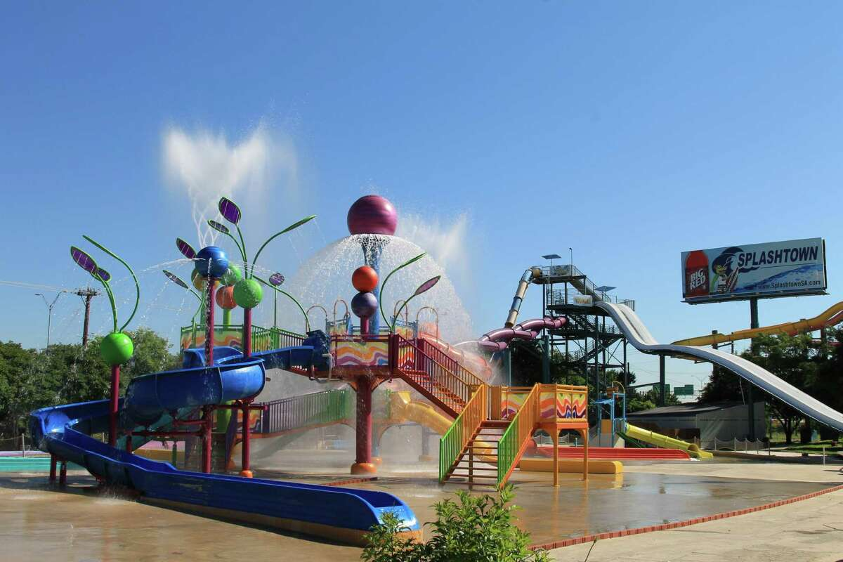 Splashtown San Antonio3600 I-35, San AntonioOpen: Weekends starting April 26. See the complete summer schedule.