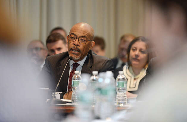 Regents member Lester W. Young, Jr. makes a comment during a board meeting Monday afternoon, May 18, 2015, at the State Education Building in Albany, N.Y. (Will Waldron/Times Union) Photo: WW, Albany Times Union