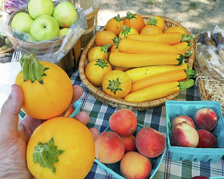 Locally grown produce, fresh ideas about cooking and other artisanal fare will be on offer when the Westport Farmers Market opens for a new season Thursday on Imperial Avenue. Photo: File Photo / Westport News