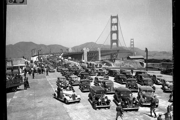 Golden Gate Bridge, Bay Bridge history: Iconic spans that link ...