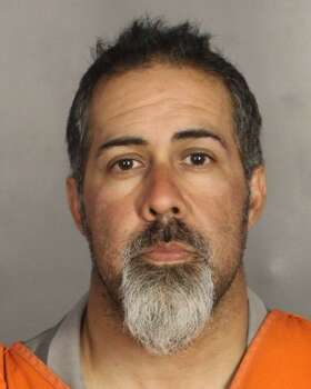 Juan Garcia, 40, was booked May 18, 2015, and charged with engaging in organized criminal activity in connection to a shooting involving motorcycle gangs at a Twin Peaks restaurant in Waco at around noon on May 17, 2015. The shooting left nine dead and 18 injured. Photo: McLennan County Jail