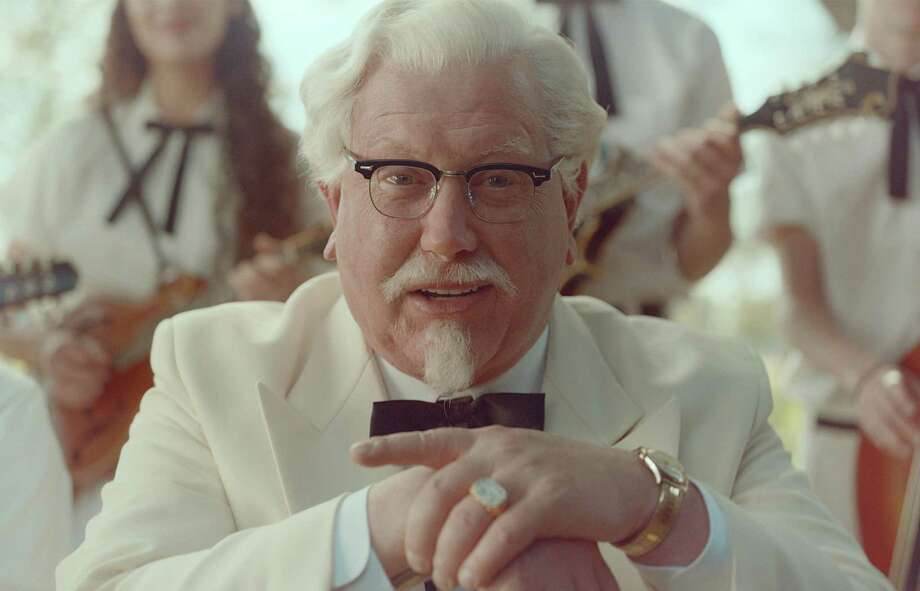 Darrell Hammond plays Colonel Sanders in a new KFC ad that will air on TV and on social media. Photo: Uncredited / Associated Press / KFC
