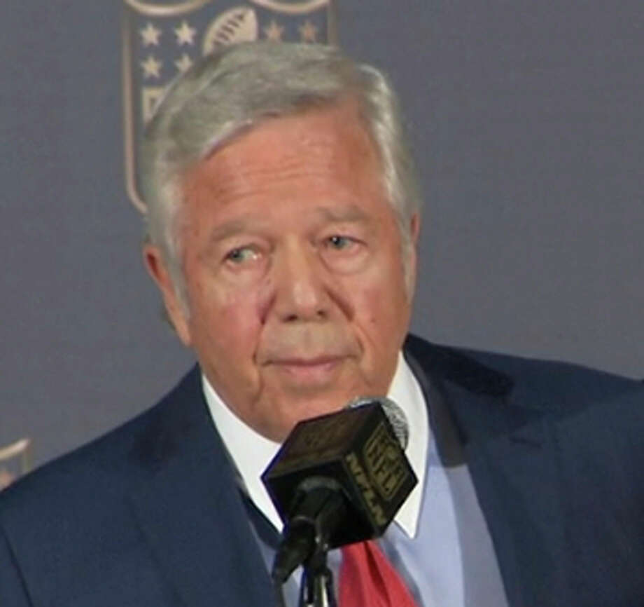 Patriots owner Robert Kraft said he is putting league before team. Photo: Associated Press / NFL