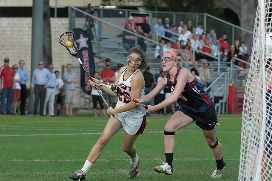 St. John's graduate Nell Copeland capped her Mavericks career with an all-conference selection before heading to play lacrosse for Northwestern University this fall. Photo: Â Tony Bullard 2014, Freelance Photographer / © Tony Bullard & the Houston Chronicle