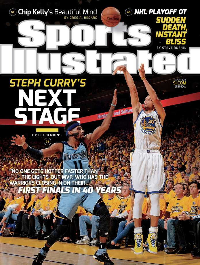 Stephen Curry will appear on Sports Illustrated's cover for the third time. Photo: Sports Illustrated / ONLINE_YES