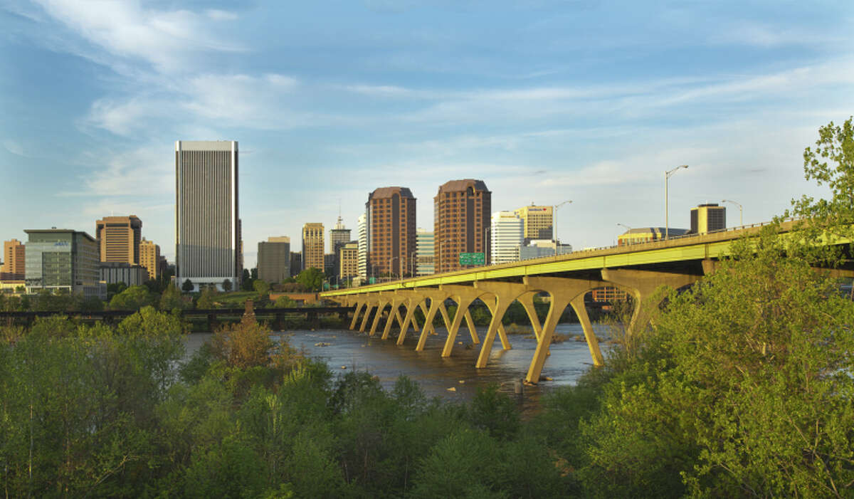 25. Richmond, Virginia Indeed score: 50.5 Job Market Favorability: 73% Salary: 73% Work-Life Balance: 18% Job Security & Advancement: 39% Source: Indeed.com