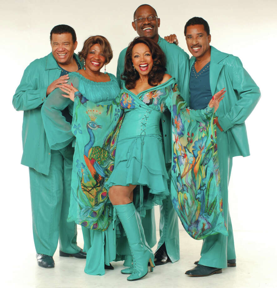 Florence LaRue, in the boots, will perform with The 5th Dimension in Ridgefield on Friday, May 29. Photo: Contributed Photo / The News-Times Contributed