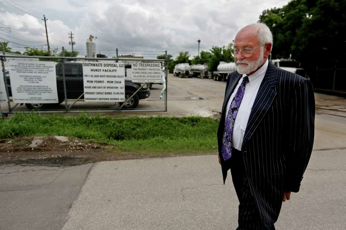 Norman Adams has complained of a foul odor coming from the Southwaste Disposal facility, located near his property along the 2500 block of 11th Street.