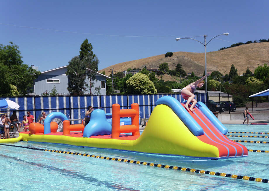 relax with the kids at terra linda community pool sfgate