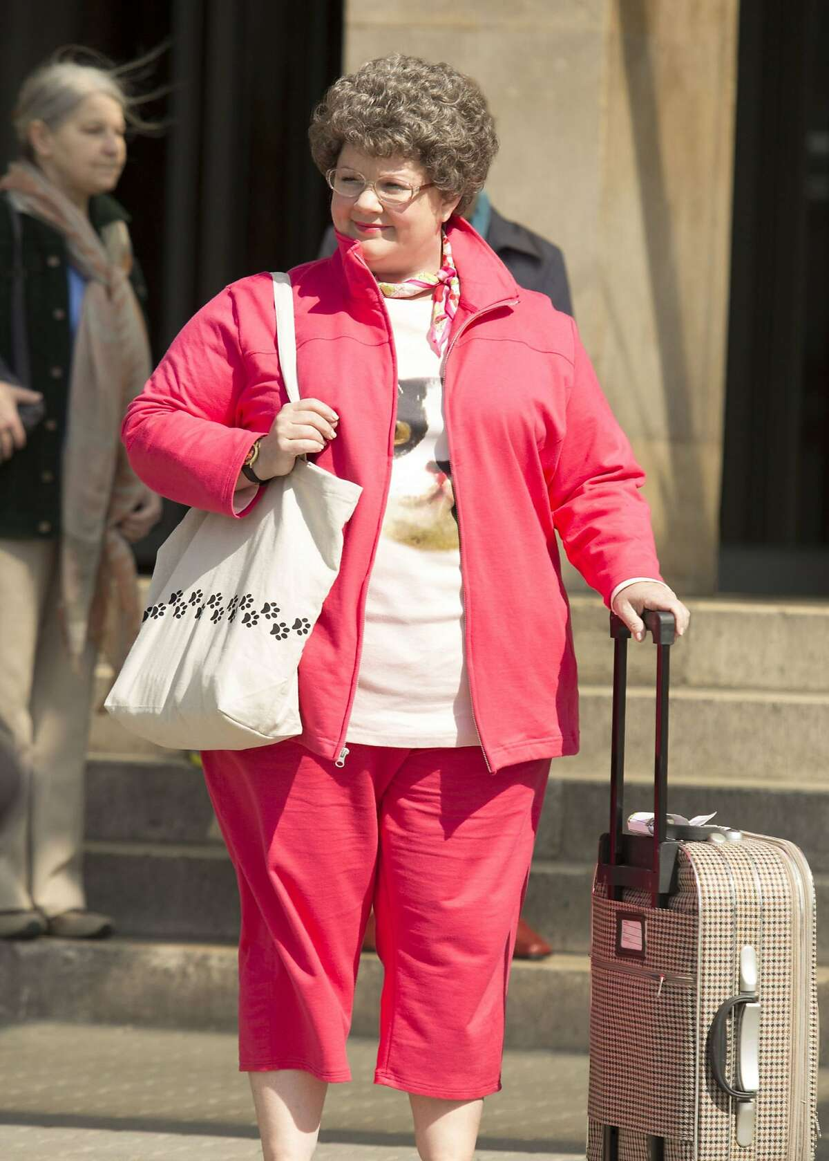 """Melissa McCarthy goes undercover in """"Spy."""" DF-02227_R - Melissa McCarthy is Susan Cooper, a CIA analyst, who volunteers to go deep undercover to infiltrate the world of a deadly arms dealer, and prevent a global disaster."""