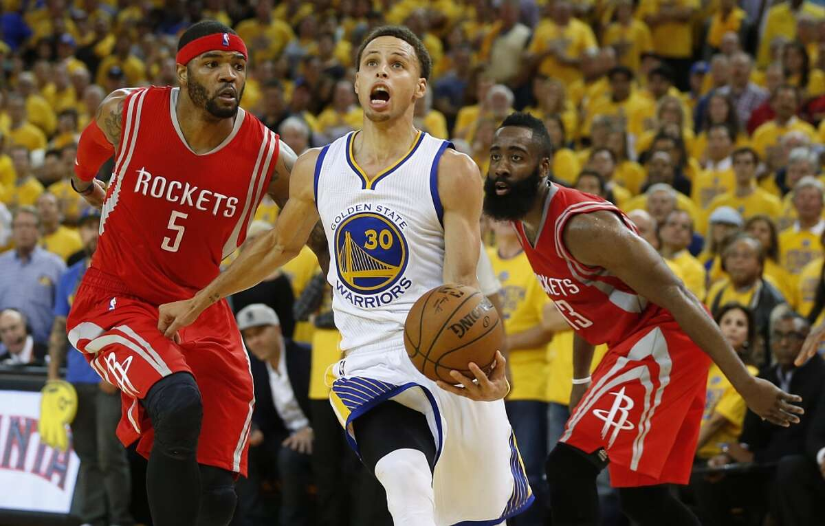 Stephen Curry and the Warriors have had their way with the Rockets the past two seasons. Click through the gallery for a game-by-game recap of the teams' series since the 2014-15 season began.