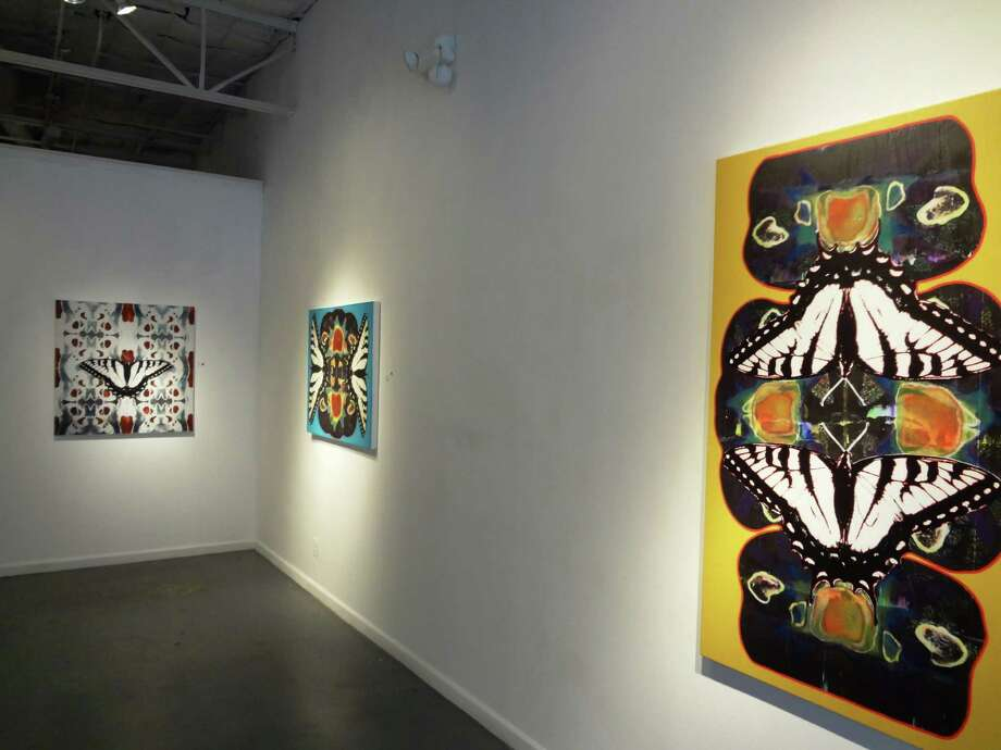Multimedia works by Roberta Buckles dealing with healing and transformation at AnArte Gallery Photo: Express-News Filr Photo / San Antonio Express-News