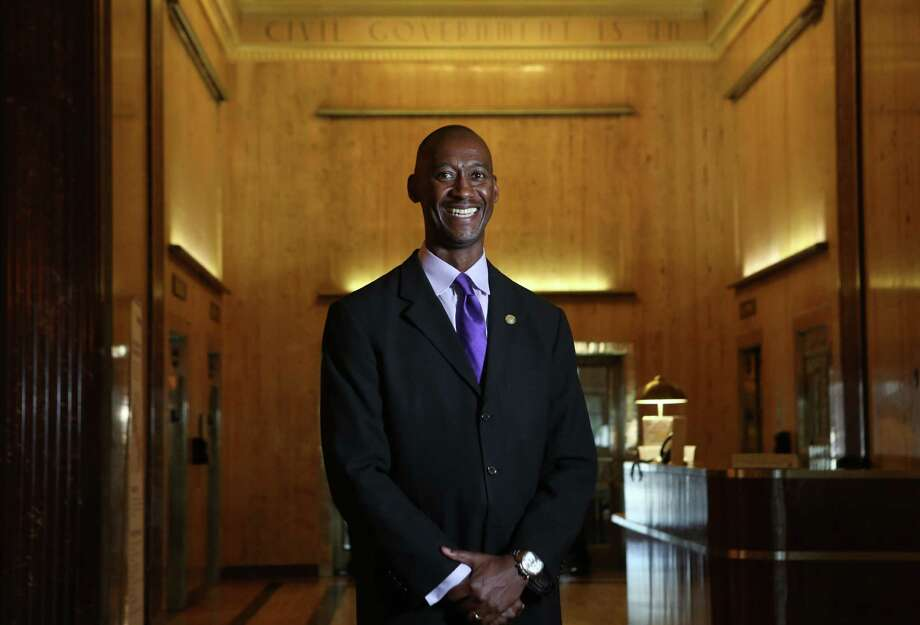 Omar Reid, City of Houston Human Resources Director, has dramatically turned around the city 's health care costs on Thursday, March 12, 2015, in Houston. ( Mayra Beltran / Houston Chronicle ) Photo: Mayra Beltran, Staff / © 2015 Houston Chronicle