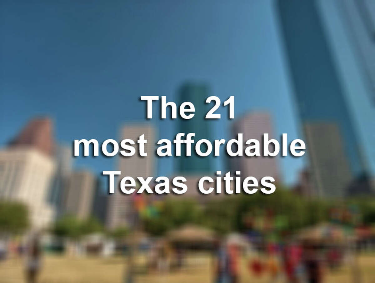 Here are the 21 most affordable Texas cities to live in, according to a new study. You'll find data on each city such as where they rank nationally, as well as the median income in each city.