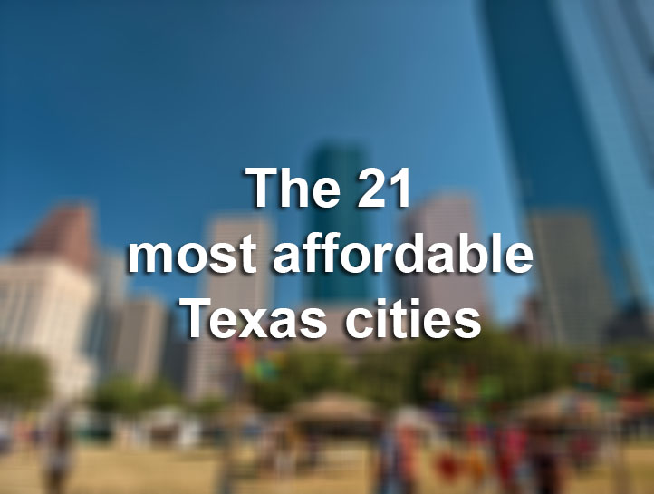 The 21 most affordable texas cities to live in houston for Affordable places to live