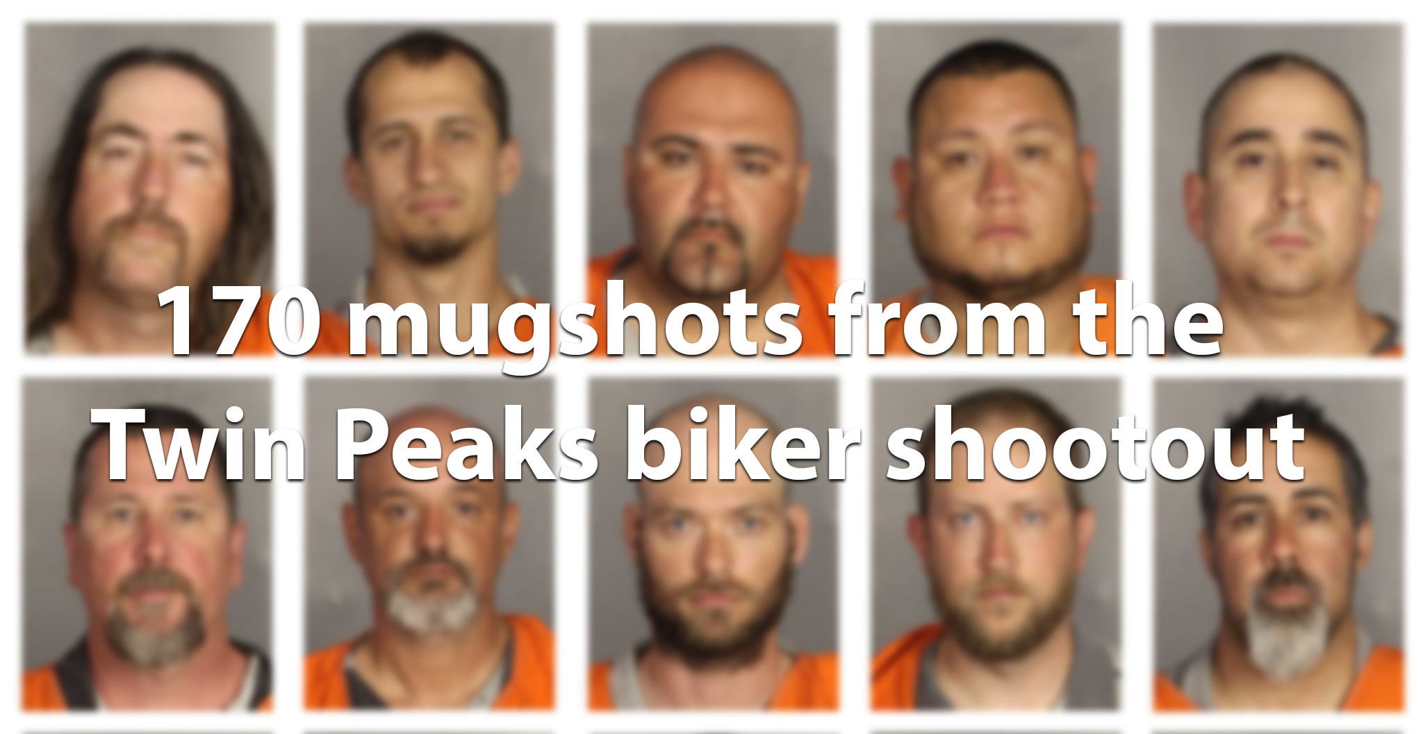 170 mugshots released in Waco Twin Peaks shooting - San