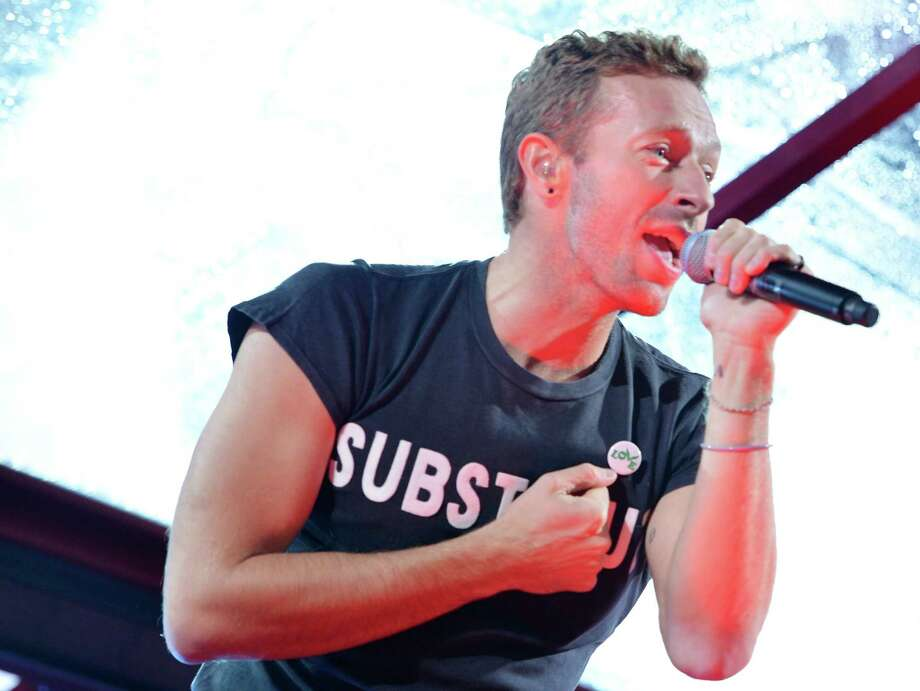 """NBC's Red Nose Day TV special will feature a mockumentary of the rock group Coldplay as it creates a musical version of """"Game of Thrones,"""" with original songs by Coldplay frontman Chris Martin performed by the group and participation by a dozen """"Game of Thrones"""" cast members. Photo: Slaven Vlasic /Getty Images For (RED) / 2014 Getty Images"""