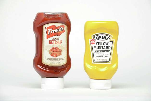 French's Ketchup and Heinz Mustard Monday, May 18, 2015, at the Times Union in Colonie, N.Y. (Will Waldron/Times Union) Photo: WW / 10031842A