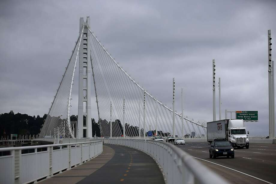 The eastern span of the Bay Bridge has been plagued by safety concerns. Photo: Justin Sullivan, Getty Images