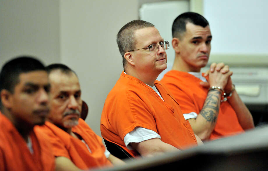 Jon Thomas Ford, covicted in the strangulation death of his ex-girlfriend Dana Clair Edwards, waits for a retrial hearing in the 186th District State Court. Photo: Robin Jerstad, FREELANCER / SPECIAL TO THE EXPRESS-NEWS / SAN ANTONIO EXPRESS-NEWS