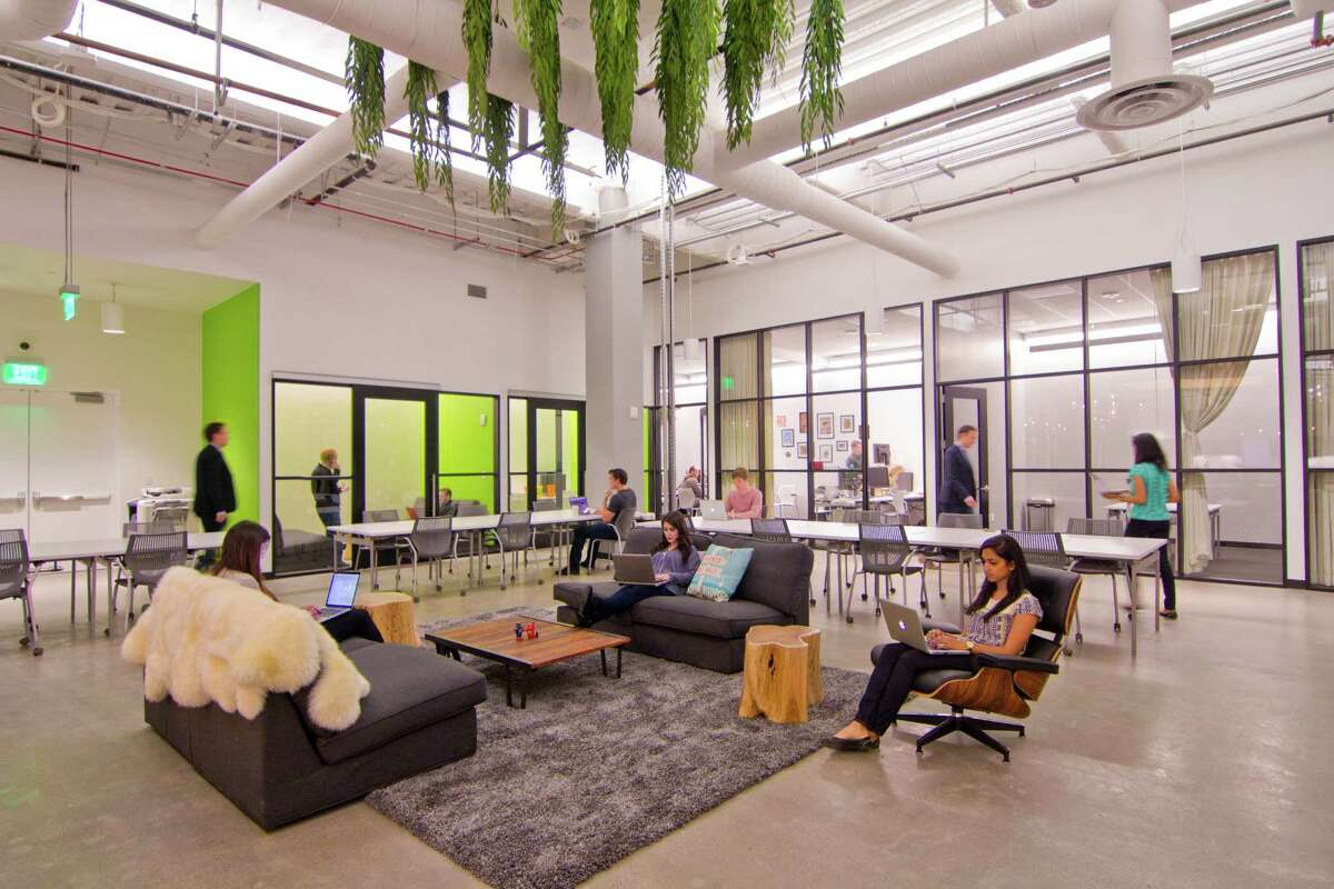 Bespoke Coworking, in Westfield San Francisco Centre, offers a co-working space for retail-tech companies.