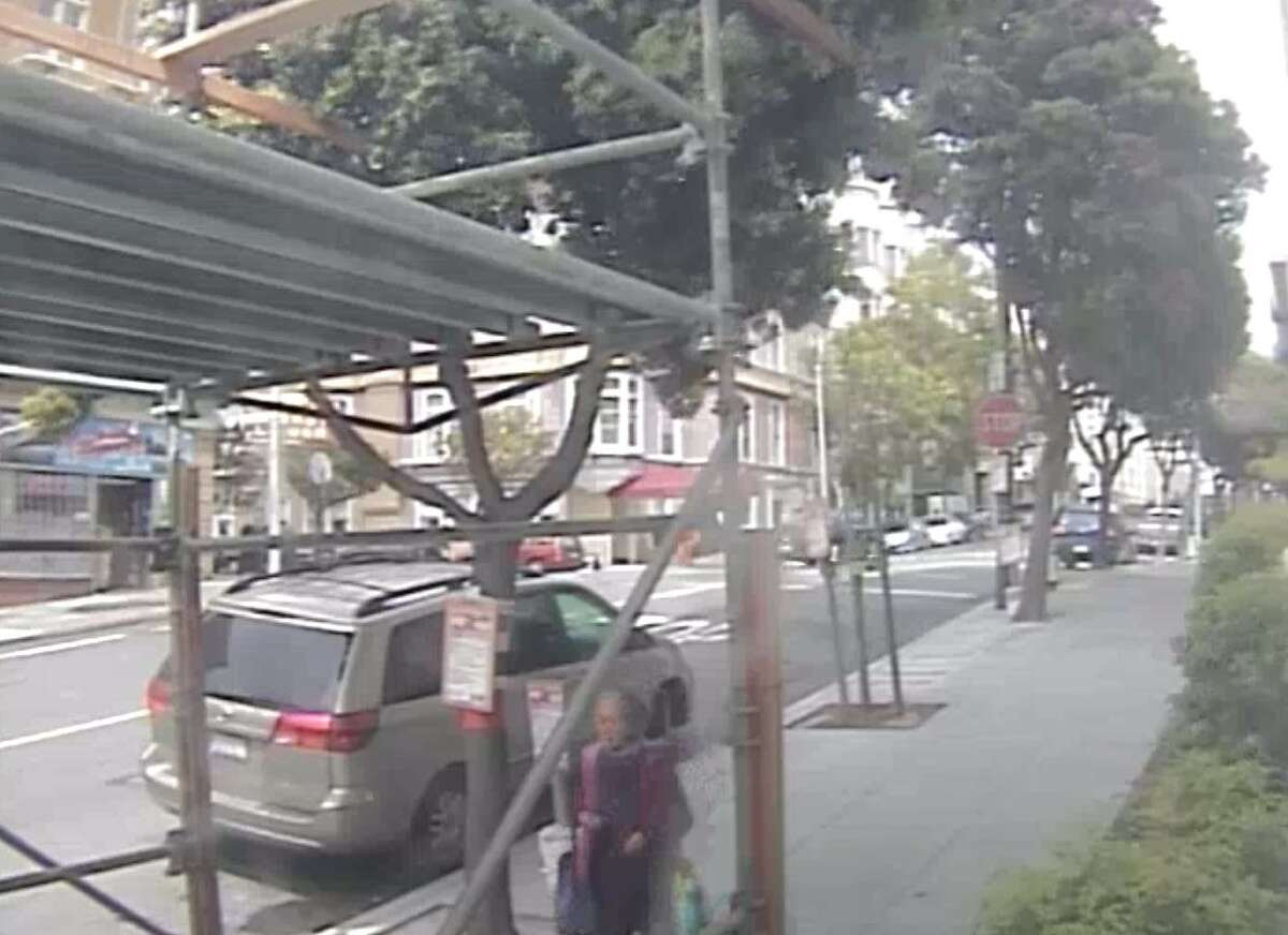 Police in San Francisco searching for an assault suspect who attacked a 77-year-old woman (pictured here) in San Francisco's Chinatown neighborhood May 10.