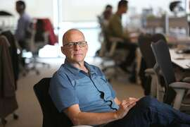 Co-founder Bill Banyai of Twist Bioscience whose expertise is synthetic DNA seen in his office at Mission Bay in San Francisco, California, on Wednesday, May 20, 2015.   The company recently raised $35 million in new financing and plans to hire 80 employees.