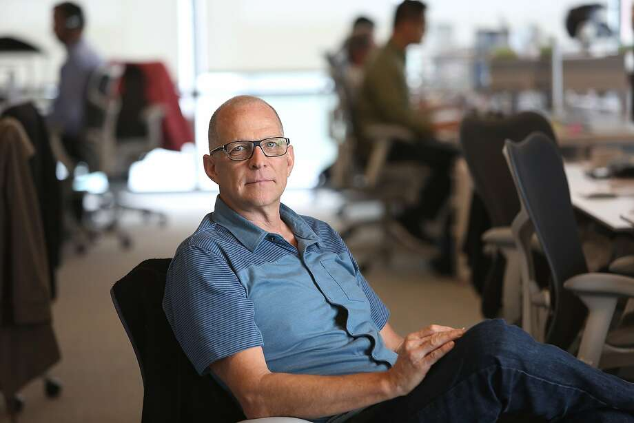 Co-founder Bill Banyai of Twist Bioscience whose expertise is synthetic DNA seen in his office at Mission Bay in San Francisco, California, on Wednesday, May 20, 2015.   The company recently raised $35 million in new financing and plans to hire 80 employees. Photo: Liz Hafalia, The Chronicle