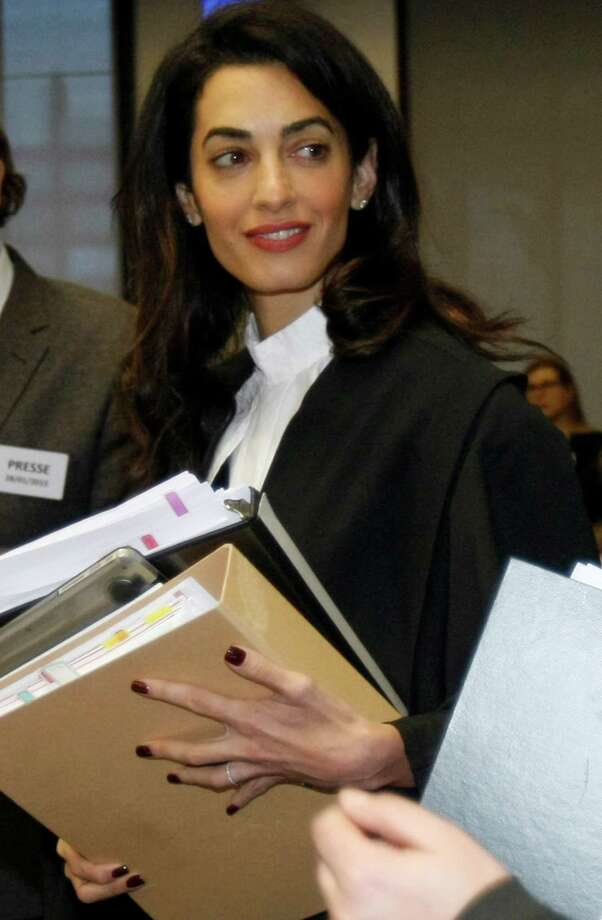 Amal Clooney Photo: Christian Lutz, AP / AP