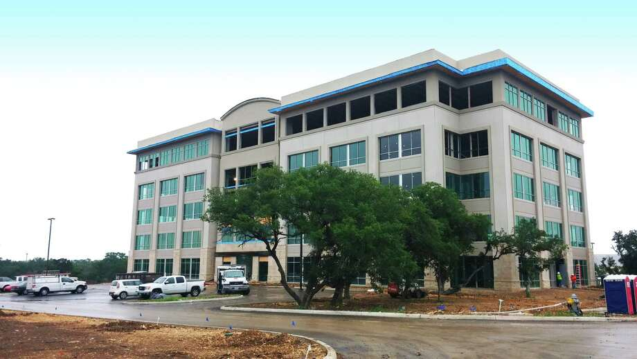 Lockhill Crossing, a 126,626-square-foot office building by Stream Realty Partners at 4630 N. Loop 1604, is scheduled for completion July 1. Photo: Courtesy Stream Realty Partners