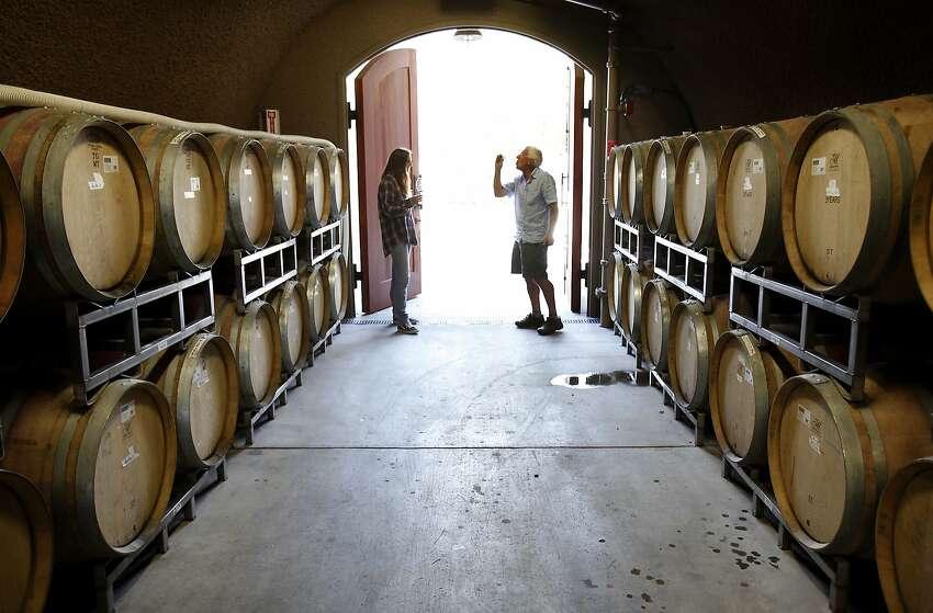 Winemaker Greg Vita at Holman Ranch Winery in Carmel Valley, Calif., on Friday, May 15, 2015.