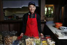 Tong Kim making breakfast for guests at the Carmel Valley Lodge in Carmel Valley, Calif., on Saturday, May 16, 2015.