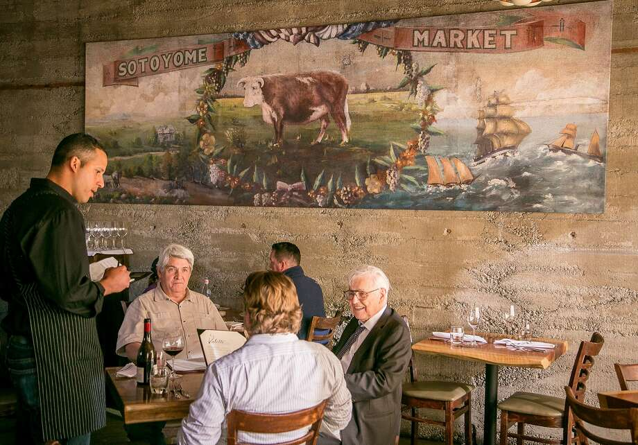Dinner at Valette in Healdsburg. Photo: John Storey, Special To The Chronicle