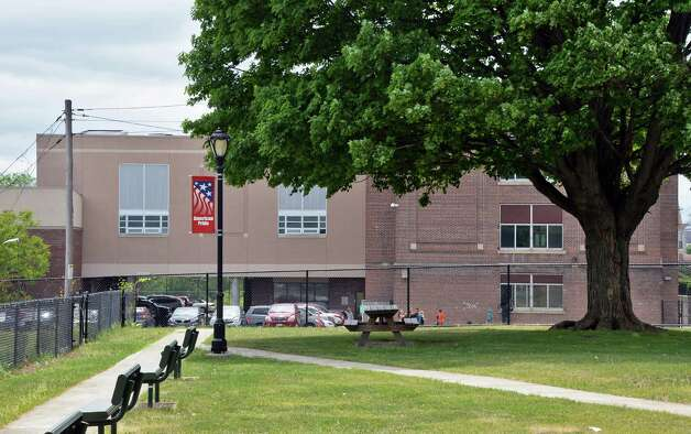 Heatly School and playground from River Park on Hudson Avenue Wednesday May 20, 2015 in Green ISLAND, NY.   (John Carl D'Annibale / Times Union) Photo: John Carl D'Annibale / 00031929A