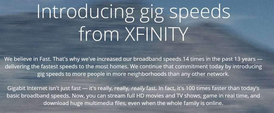 Comcast's Gigabit Pro service, with symmetrical 2-Gbps speeds, is now available in Houston. You must be within 1/3 of a mile from its fiber network, and it costs $300 a month.