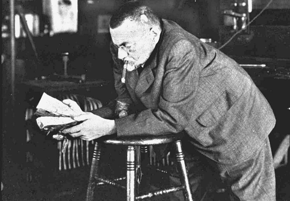 Undated historical photo of Charles Steinmetz (Times Union archive)