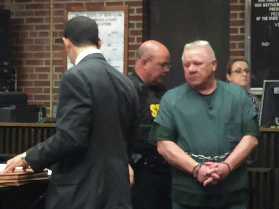 Charles Wilkinson pleads guilty to manslaughter for killing his wife in Malta. (Pool photo)