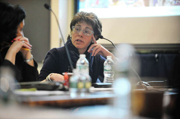 Merryl Tisch, Regents Chancellor, addresses those gathered for a Board of Regents meeting at the State Education building on Tuesday, May 19, 2015, in Albany, N.Y.  (Paul Buckowski / Times Union) Photo: PAUL BUCKOWSKI, Albany Times Union / 00031897A